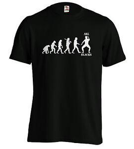 La imagen se está cargando Todos-los-negros-evolucion-Camiseta-Rugby-Tee- kiwis- c63cf8ce4aad0