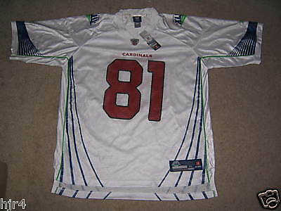 Anquan Boldin Arizona Cardinals Super Bowl Reebok en Campo NFL Camiseta XL