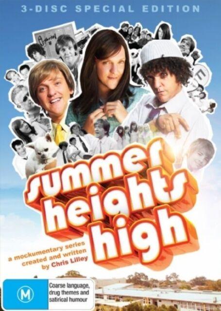 Summer Heights High (DVD, 2008, 3-Disc Set)