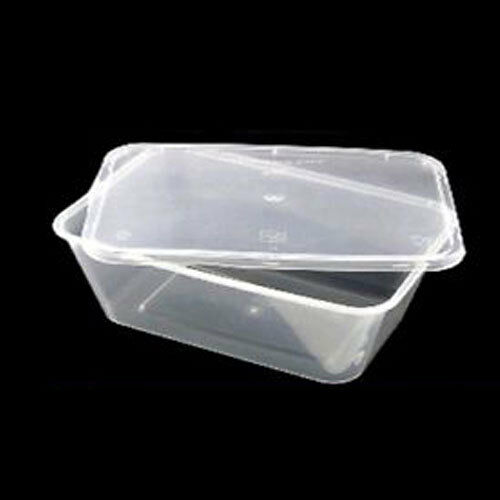 Plastic Containers Tubs Clear With Lids Microwave Food Safe Takeaway All Sizes 500ml 100 Ebay