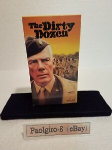 VHS-The-Dirty-Dozen-Lee-Marvin-Charles-Bronson-Ernest-Borgnine-Telly-Savalas
