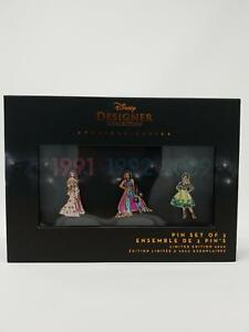 Disney-Princess-Designer-Collection-Premiere-Series-Pin-Set-Two-Limited-to-4800