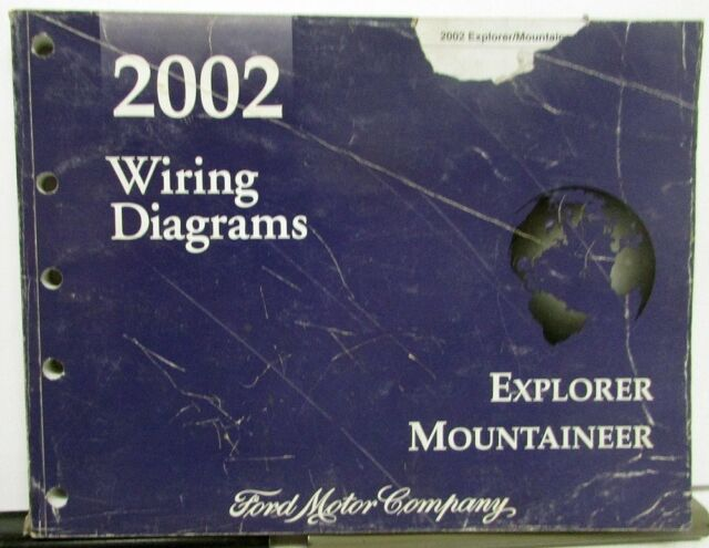 2002 Ford Mercury Dealer Electrical Wiring Diagram Manual