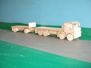 1-32nd-Atkinson-Defender-8x4-Rigid-Flatbed-with-Trailer-Wooden-Model-Truck