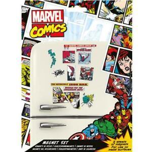 Marvel-Comics-Fridge-Magnet-Set-Official-Licensed-Product