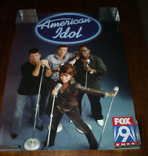 American Idol Paula Abdul Randy Jackson Simon Cowell Ryan Seacrest 24x18 Poster
