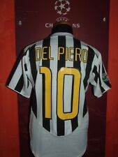 DEL PIERO JUVENTUS 2003.04 MAGLIA SHIRT CALCIO FOOTBALL MAILLOT JERSEY CAMISETA