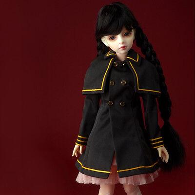 Ch-Brown Long Susa Waistcoat DOLLMORE 1//4BJD clothes coat MSD SIZE