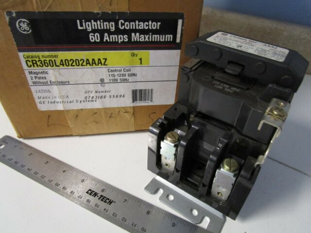 2 Pole 60 Amp Lighting Contactor