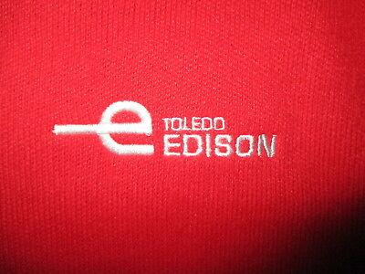 Offizielle Website Vtg Toledo Edison Pullover Electric Company 70er Jahre 80er Strick V-ausschnitt