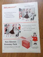 1955 Kleenex Ad by Little LULU Comic Art