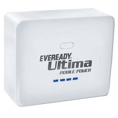Eveready UM 52 Power Bank for Tablets and Smartphones (White) 5200 mah