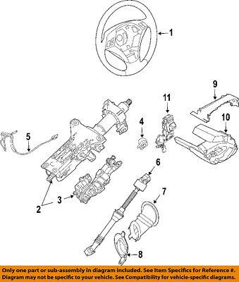 BMW OEM 04-07 525i Steering Column-Angle Position Sensor 32306765857