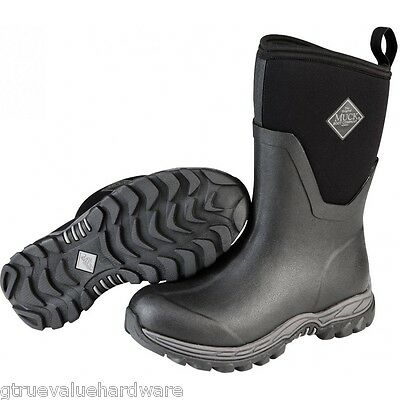 Muck Black Arctic Sport II MID Womens Extreme Snow Winter Boots 6,7,8,9,10,11