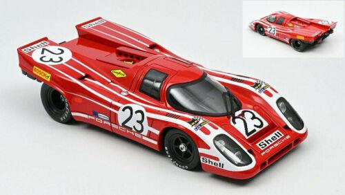 Porsche 917 k n.23 winner lm 1970 hermann-attwood 1//18 auto modellino norev