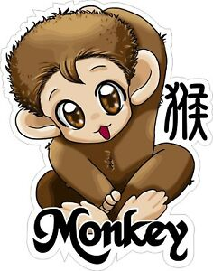 Chinese-Horoscope-Anime-Year-of-the-Monkey-Decal-Sticker
