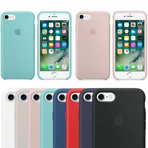 Genuine-Originale-Silicone-Sottile-Custodia-Cover-per-iPhone-8-7-6s-6-plus-fm2