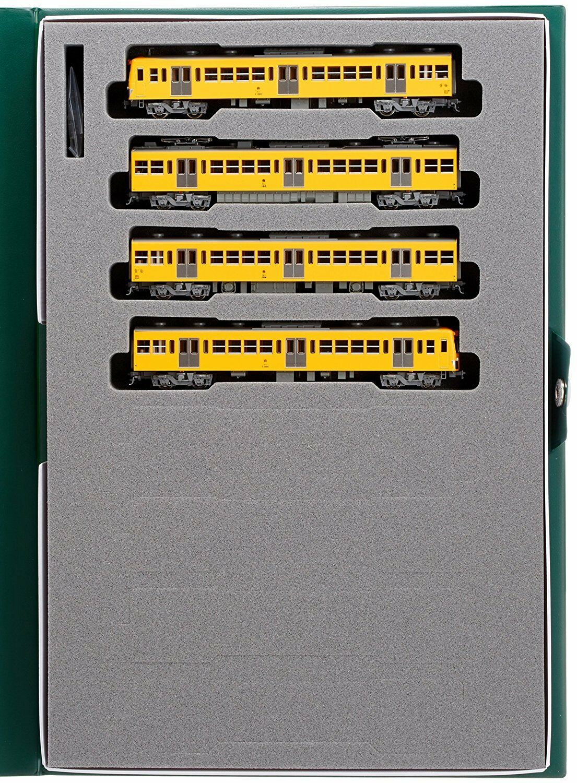 KATO N 10 -1185 Seibu järnvägway Electric Train Series 101 Early Färg Basic 4 -bil