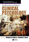 Handbook of Research Methods in Clinical Psychology by John Wiley and Sons Ltd (Paperback, 2005)
