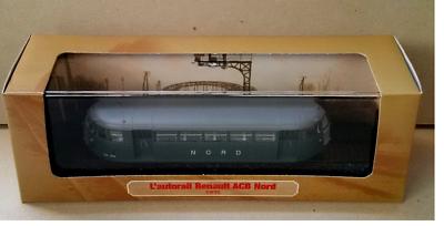029 Atlas  1//87 Train Model L/'AUTORAIL RENAULT ACB NORD 1935
