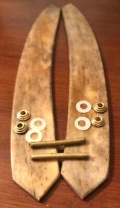 Camel-Bone-Straight-Razor-Scales-For-5-8-6-8-3-4-1-Razor-Blades-Handles-Parts