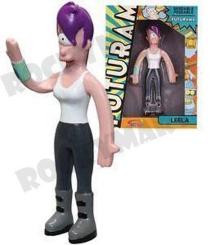 Futurama TV Show LEELA Character Bendable Figure Toy RM1834