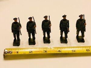 Vintage-Lead-Soldier-Lot-of-5