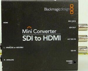 Adroit Blackmagicdesign Mini Convertisseur Sdi Vers Hdmi-gn Mini Converter Sdi To Hdmi Fr-fr Afficher Le Titre D'origine Adopter Une Technologie De Pointe