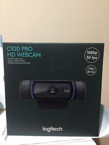 Logitech HD Pro Webcam C920 - 1080p - Black-In stock 960-000764