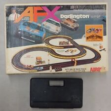 Vintage Aurora 1970s AFX DARLINGTON 500 HO Scale Race Set & Parts Lot