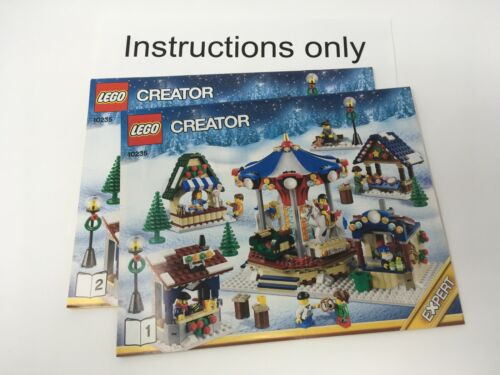 ONLY instructions LEGO 10235 Creator Winter Village Market no bricks//parts