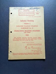 ORIGINAL-1949-War-Office-Infantry-Training-Pamphlet-11-Exercising-Trained