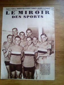 Le-miroir-DES-SPORTS-N-713-JUIN-1933-EQUIPE-DE-FRANCE-CYCLISME