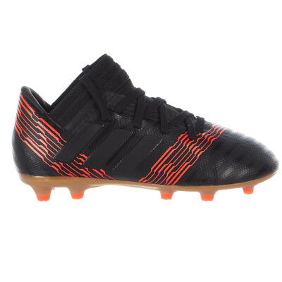 5b3f18cba adidas Kids Nemeziz 17.3 FG Core Black Solar Red CP9165