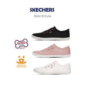 Skechers Bobs B Cute Canvas Memory Foam