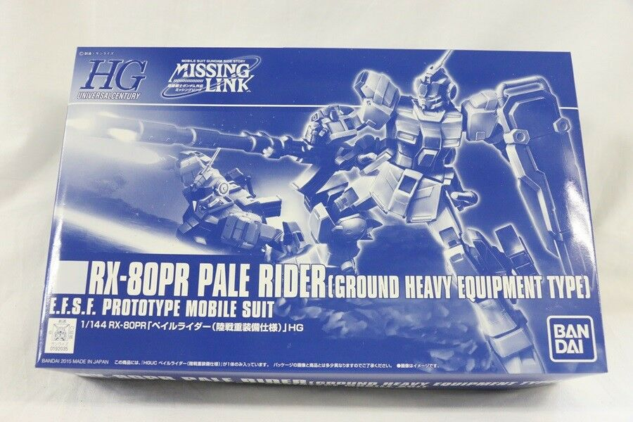 HGUC 1 144 Rx-80PR Pale Rider ( Ground Heavy Equipment Type) Predotype Gunpla