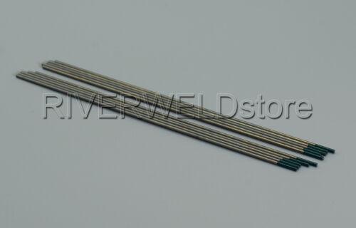 "1.6mmx150mm TIG Welding Pure Tungsten Electrode Green Tip WP 1//16/""x 6/"" ,10PK"