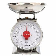 6589337 NEW TAYLOR TS50 50LB KITCHEN FOOD PLATFORM SCALE SALE!