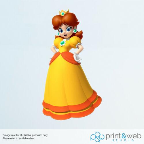 Super Mario 64 Princesse Daisy Decal Autocollant Chambre Vinyle Enfants