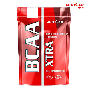 BCAA-XTRA-800g-80-Teile-Whey-Protein-Anabolika-Wachstums-Recovery-FREE-SHAKER
