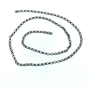 Vintage-9ct-Gold-Length-Chain-Jewellery-Repairs-280-mm-Long-2-mm-wide-1-69g