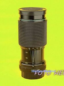 200 Bajonett defekt Objektiv K 5449 Hanimex 80 Blende Zoom Pentax mm a05Wqw