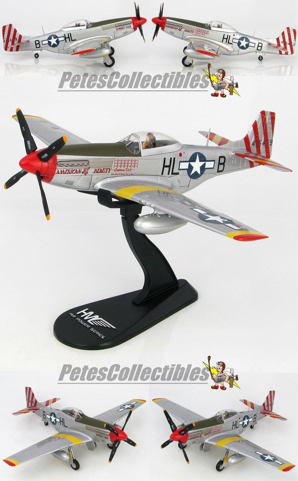 Hobby Master HA7739 P -51D Mustang American Beauty Kapten John Voll, 308FS  31FG