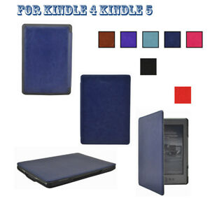 Ultra-Slim-Design-Stylish-PU-Leather-Case-Cover-Skin-For-6-034-Kindle-4-Kindle-5