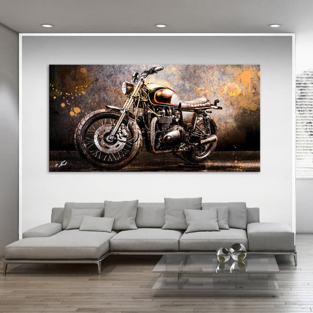 ABSTRAIT MOTO Image Sur Toile ART Art Images Peintures murales Art ART pression d0260 da22a5