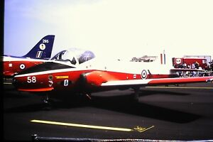 3-880-BAC-84-Jet-Provost-T-5A-C-N-EEP-JP-1042-Royal-Air-Force-Kodachrome-SLIDE