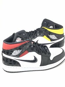 reputable site closer at newest Details about New Nike Air Jordan 1 Mid Quai 54 Q54 2019 Size 12 CJ9219-001