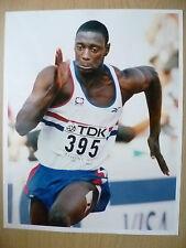 Original Press Photo- DAKO OWUSU, Great Britain~ 200 Metres, 10th August 1997