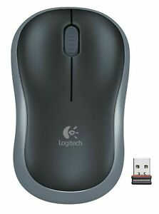 Details about Logitech M185 Wireless Mouse for Windows, Mac and Linux -  Grey New