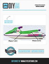 GTS GTX SEA DOO GREEN Seat Skin Cover 91 92 93 94 95 96